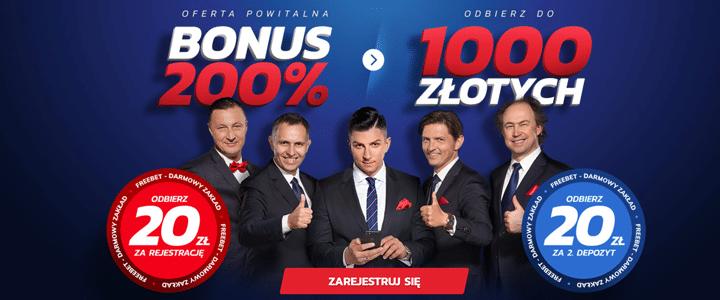 Zarejestruj się i odbierz bonus legalnego bukmachera w Polsce